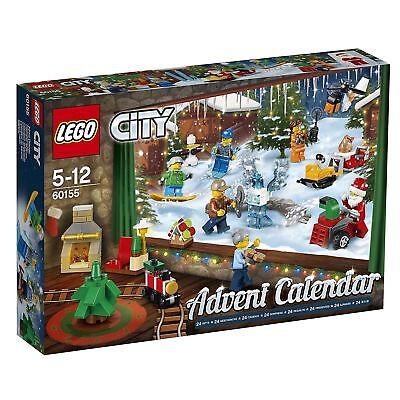 LEGO City Christmas Advent Calendar Boys Toy 60155 Xmas Gift Set - New for 2017