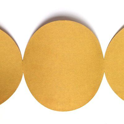 "100 Pack 40 Grit 5/"" Inch Discs On a Roll PSA Gold Sticky Back DA Sanding Paper"