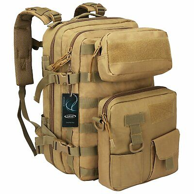 40L Outdoor Military Rucksacks Tactical Backpack 3 Day Assault Molle Bag  Hiking 37830b01f859e