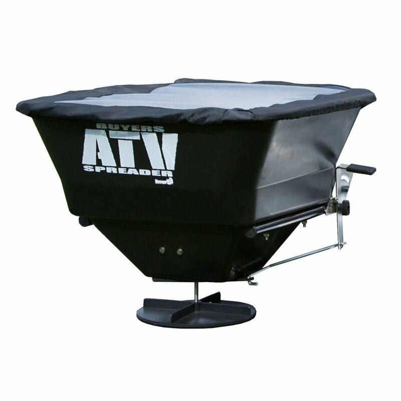 Buyers Products 12 Volt ATV 100 Pound Broadcast Seed Fertilizer Salt Spreader