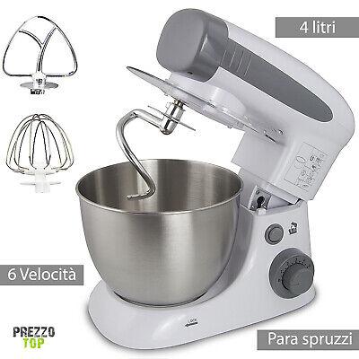 Mezclador de Pasta Amasadora 4 Litros Robot De de Cocina Máquina Pan...