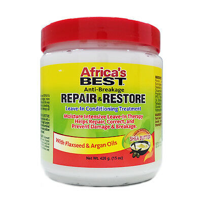 AFRICA'S BEST ANTI-BREAKAGE REPAIR&RESTORE LEAVE-IN CONDITIONING TREATMENT (Best Leave In Treatment)