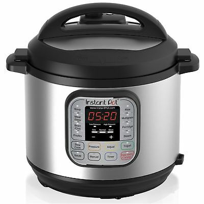 Ready-to-serve Pot DUO80 8 Qt 7-in-1 Multi- Use Programmable Pressure Cooker Slow cook