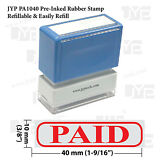 Paid & Frame JYP PA1040  Pre-Inked Rubber Stamp