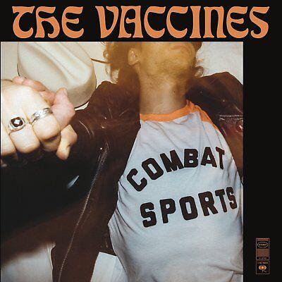 """The Vaccines - Combat Sports (NEW 12"""" ORANGE VINYL LP)"""