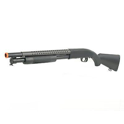 BBTac Airsoft Gun Shotgun Rifle Double Eagle M58A Spring Pump Action Full Stock ()