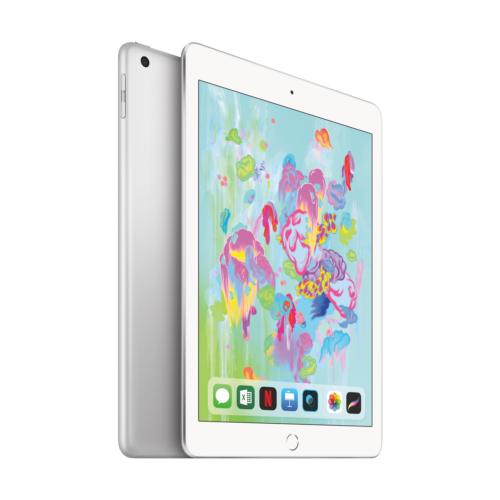 """Apple iPad 9,7"""" 2018 Wi-Fi 32 GB Silber (MR7G2FD/A)"""
