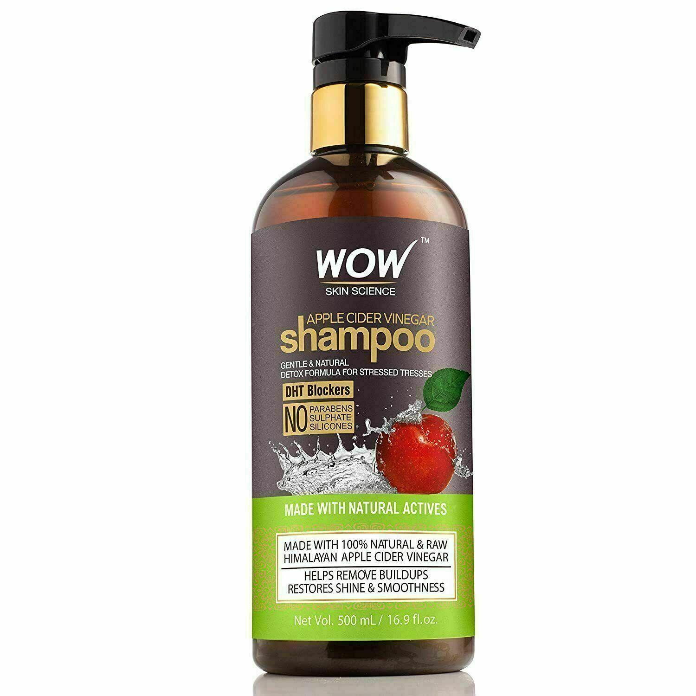 Wow Haut Wissenschaft Apple Cider Vinegar Shampoo 500 ML