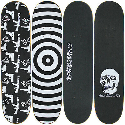 "4 Blank Skateboard Decks 8.0"" Natural Pre-Gripped Graphics BULK LOT"