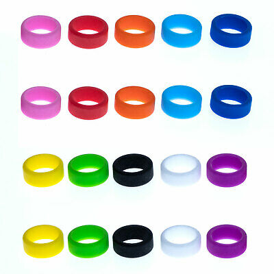 Grifiti Band Joes 1 X 0.25 Inch 20 Pack Cooking Ring Cord Silicone Rubber Bands