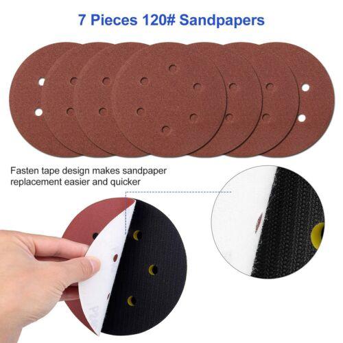 "US 6"" inch Air Palm Random Orbital Sander 10000RPM Hand Sanding Pneumatic Round"