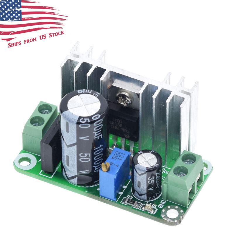 5-35VDC / 5-22VAC to 1-34VDC LM317T Step Down Linear Regulator Converter Module