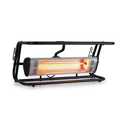 [B-Stock] Heater Infrared Radiant Space Outdoor Patio Heating 1500W LED Remote -