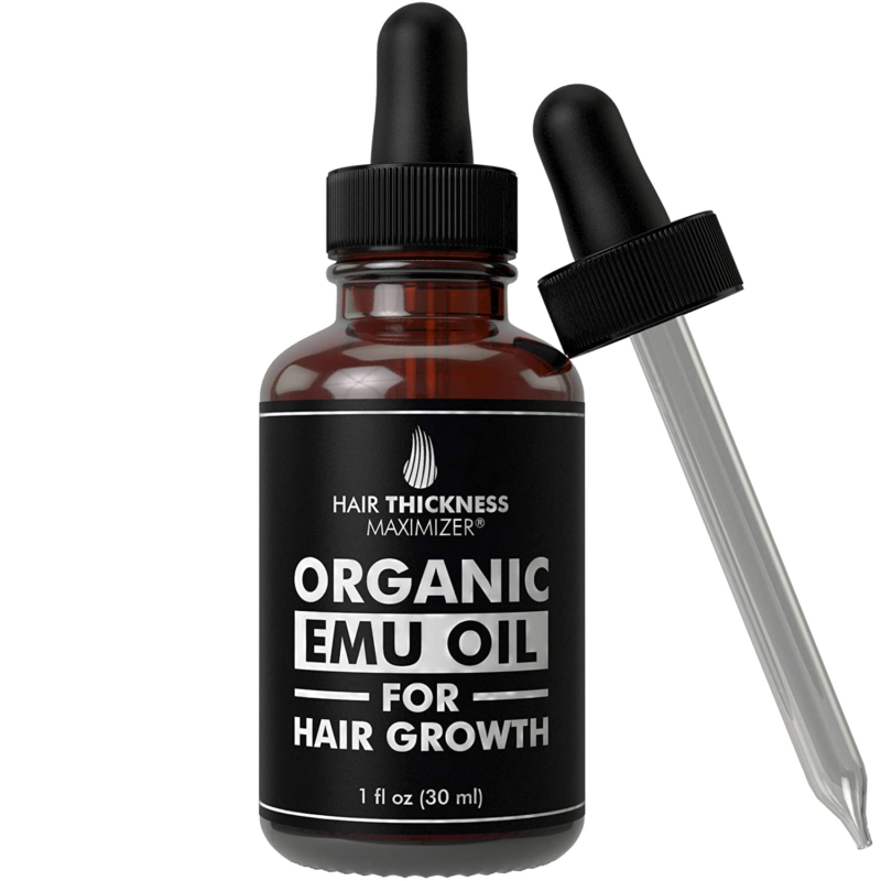 EMU Oil For Hair Growth by Hair Thickness Maximizer. Best Or