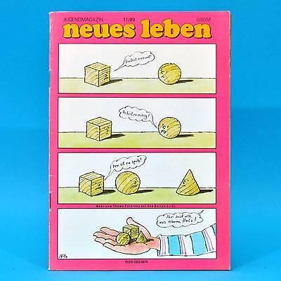 DDR Neues Leben 11/1989 Union Berlin Jänschwalde Niederlande Götz George Texas V