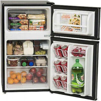 New Compact 3.2 Cu Ft Fridge Mini Dorm Office Refrigerator S