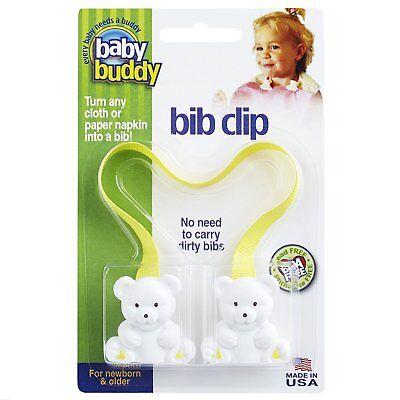 Baby Buddy Bib Clip,