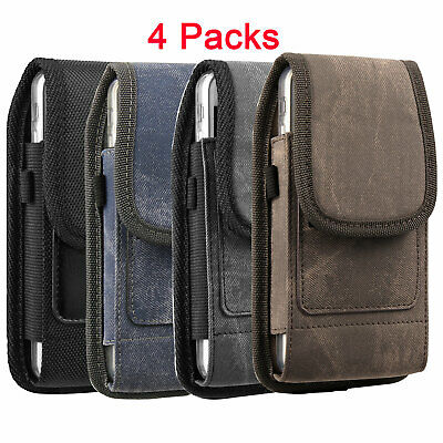 Cell Phone Cas Belt Clip Nylon Pouch Clip Holster for iPhone 11 XR X 6s 7 8 -