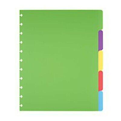 Tul Custom Note-taking System 5-tab Dividers 8.5x11