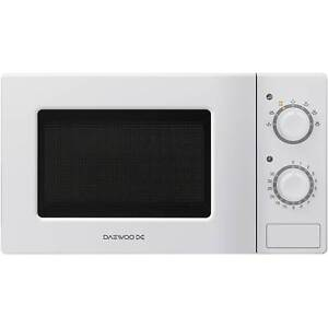 Daewoo KOR6L77 Manual 7 Power Levels 700W Microwave Oven in White