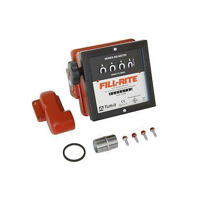 Fill-rite 901cmk300v 6 - 40 Gpm 1-inch Npt Thread Nonresettable Meter Kit