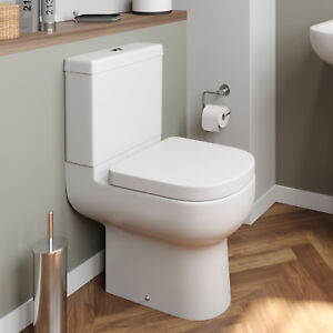 Close D Toilet Ceramic Short Projection Pan Cistern Soft Seat Wc