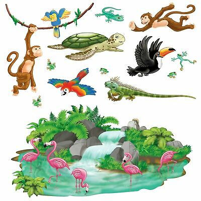 Jungle Tropical Party Decorations Insta theme Props - Halloween Insta Theme