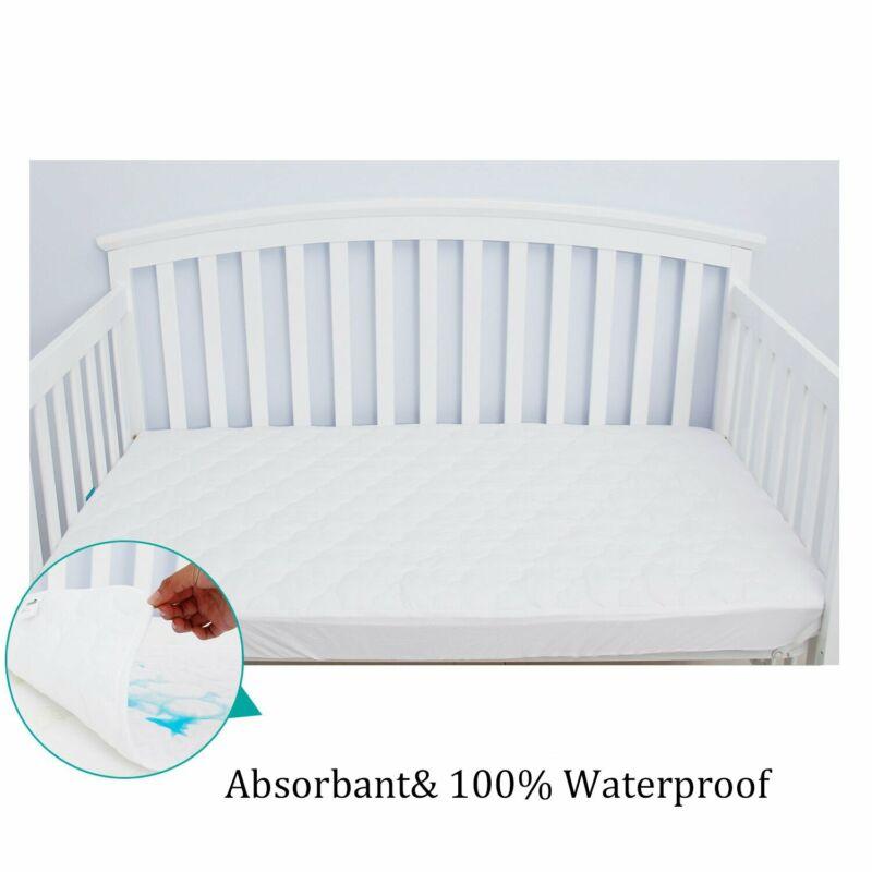 "2PCS Waterproof  Toddler Baby Standard Crib Mattress Cover Pad 52""x 28''"
