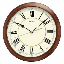 Seiko QXA597ALH Japanese Quartz Wall Clock , New, Free Shipping