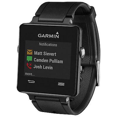 Brand NEW Sealed Garmin Vivoactive GPS Watch Black Activity Monitor Run Bike