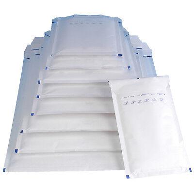 100 C3 Luftpolstertaschen Versandtaschen Luftpolstertüten 165 x 225 mm weiß