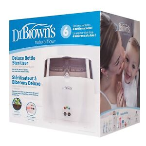 Like new in box - Dr. Brown's Deluxe Bottle Sterilizer