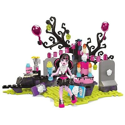 Mega Bloks Monster High Dracula's Birthday Bash Party Childrens Toy Kids Playset - Monster High Birthday Party Games