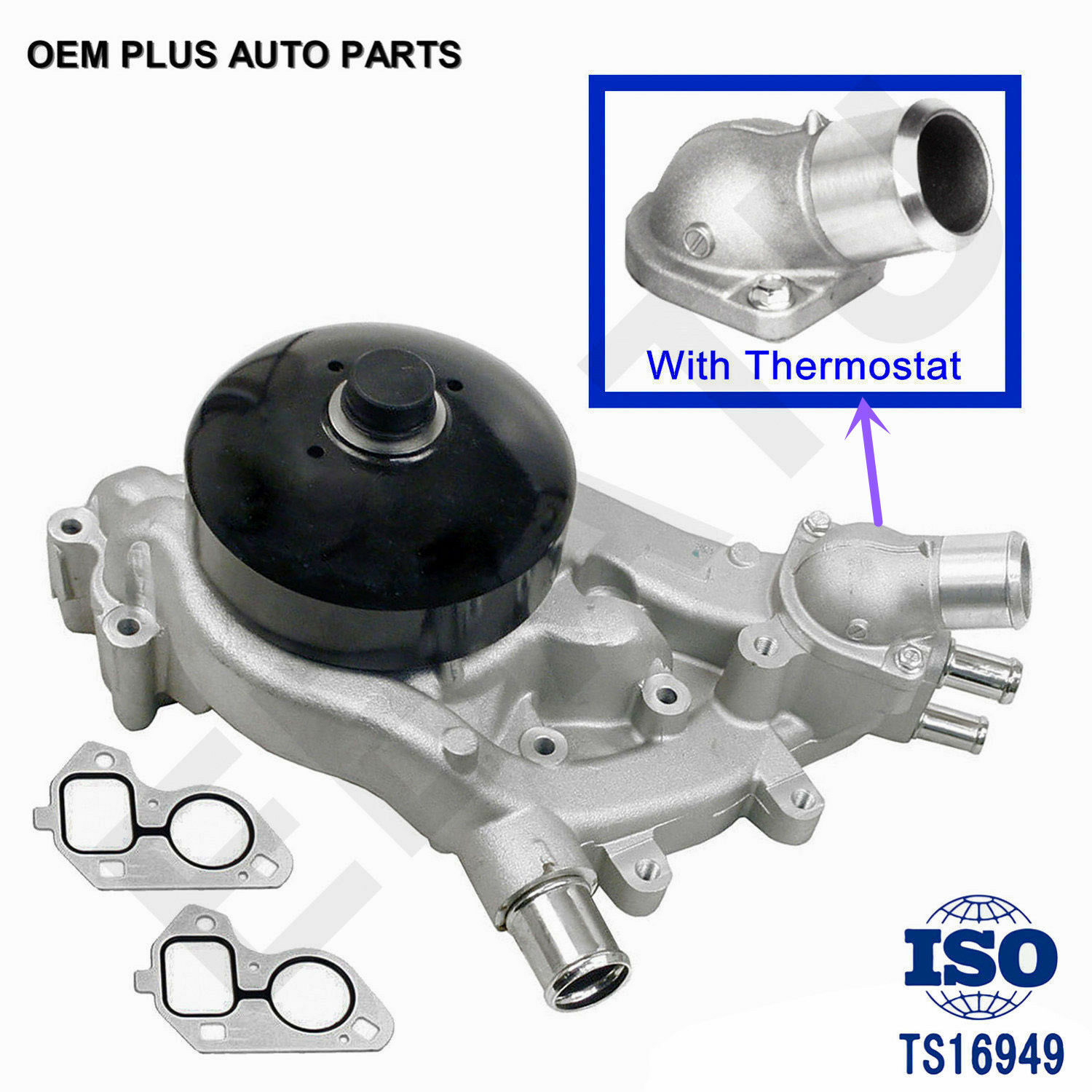 Water Pump w/Thermostat ...
