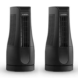 2er set tisch ventilator mini standventilator. Black Bedroom Furniture Sets. Home Design Ideas