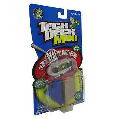 """Tech Deck Mini Collect & Connect Trick Ramp """"A-Team"""" - Bird"""