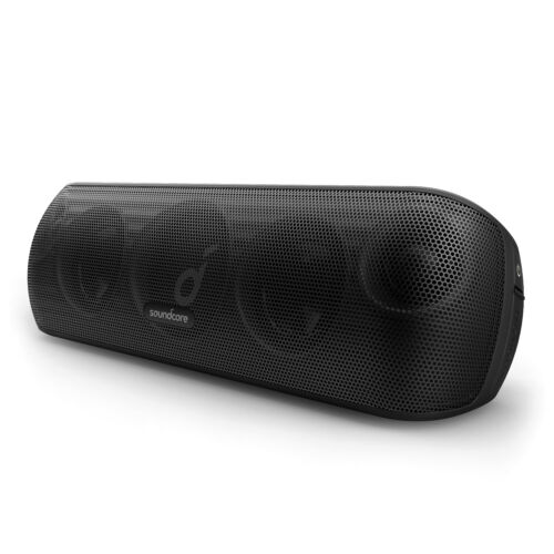 Anker Motion+ Bluetooth Speaker Hi-Res 30W Audio Bass Treble Wireless Portable