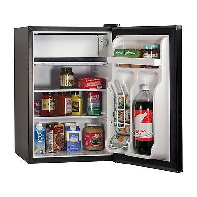 BLACK+DECKER Compact Refrigerator Energy Star Single Door Mini Fridge + Freezer