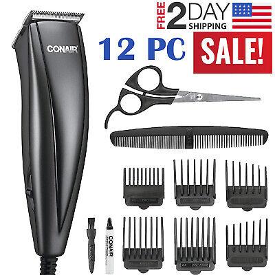 Haircutting Clipper - Men Hair Clipper Electric Shaver Haircut Trimmer Barber Grooming Cutting Kit