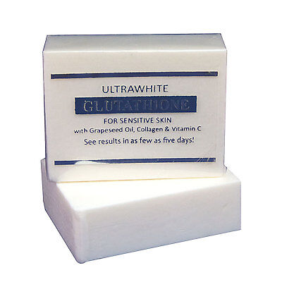 Premium Ultrawhite Glutathione Whitening Soap for Sensitive Skin, w/ Glutathione