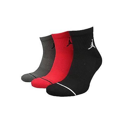 Dri-fit Quarter Socken (Nike Jordan Jumpman Dri - Fit Niedrig Quarter-Socken Multi 3 Paar SX5544-018 S M)