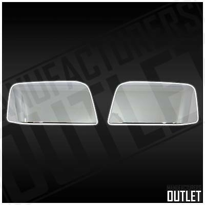 Chrome Side Rear View Top Half Mirror Cover Ford Explorer Sport Trac 2006-2010