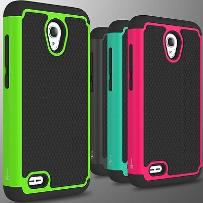 For ALCATEL One Touch Go Play / Conquest Case Tough Protective Hard Cover Phone (One Touch Alcatel 5 Phone Cases)