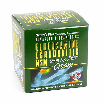 Natures Plus Glucosamine/Chondroitin/MSM Ultra Rx-Joint Crea