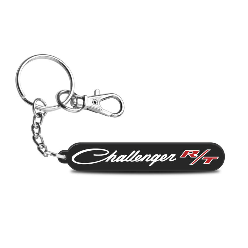 Dodge Challenger R/T Classic Laser Cut Full-Color Acrylic Charm Key Chain