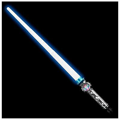 Lumistick LED Light-Up 31 Inch Expandable Spinning Ball Sword - Expandable Light Sword