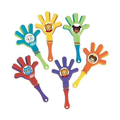 12ct~ DANIEL TIGER mini hand clappers, birthday party favors, loot bag fillers](Hand Clapper)