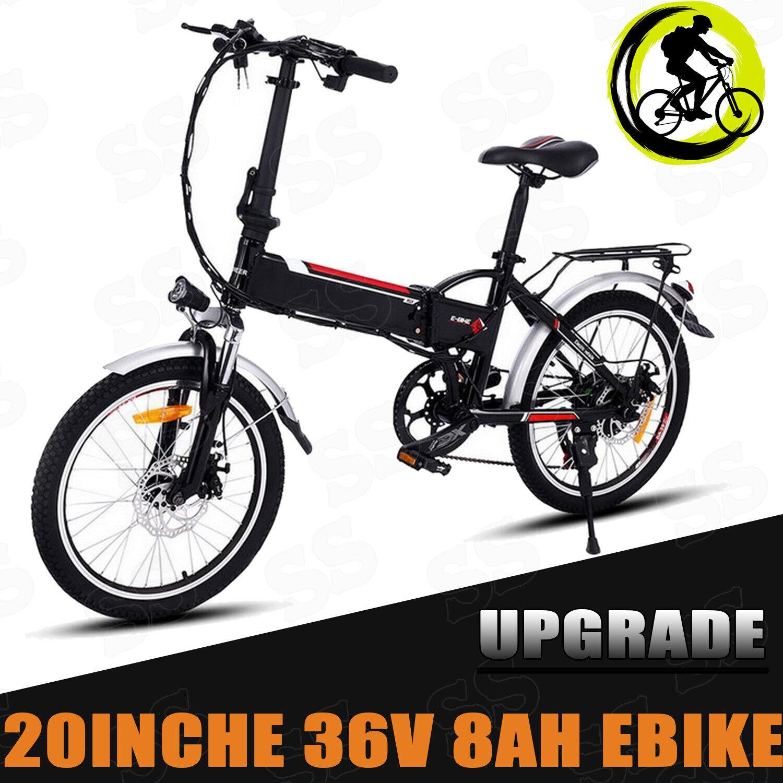 20 Zoll Klapprad Fahrrad Shimano Pedelec Elektrofahrrad 36V Ebike Faltrad e~Bike