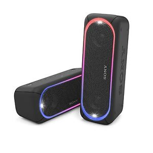 Sony SRS-XB30 Portable Wireless Speaker with Extra Bass and Lighting BLACK B