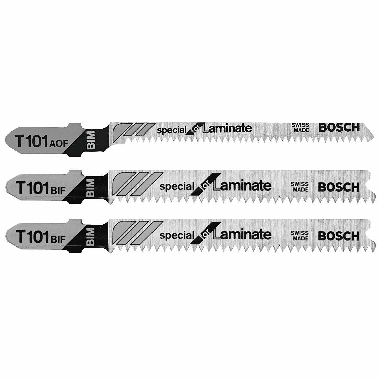 Bosch T503 3-Piece Hardwood/Laminate Flooring T-Shank Jig Sa